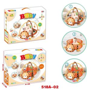 3 in 1 game blanket with 30pcs balls - lion game (518A-02)