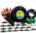 40m 9/12 garden hose with timer +  40 nozzles double outlet