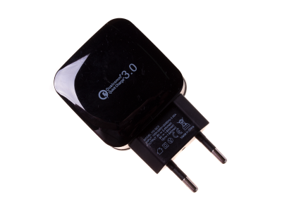 HF-1020 - Adapter charger USB HALOFUTURE Qualcomm Quick Charge 2.4A - black