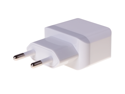 HF-32 - Adapter charger USB HEDO 2.1A - white