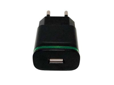 HF-219 - Adapter Fast Charger USB - black
