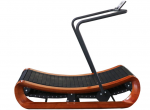 Adjustable Resistance Treadmill / Unpowered treadmill - wooden frame