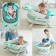 Baby Bathtub+ Bath Mat - GREY (Large Size)