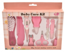 Baby care kit - pink (type one)