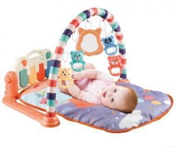 Baby exercise rack foot piano - model 668-37 orange