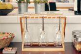 Bamboo Bowl and Dish Drain Rack - HY1718