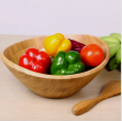Bamboo Kitchen Serving Tray - 30.5*30.5*17.8 cm - HY1934