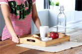 Bamboo Kitchen Serving Tray - HY1912