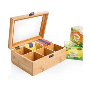 Bamboo Tea Box - HY1318