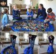 Blanket Bag For Toys (Big Size Blue)