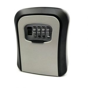 CH-806 Arc key box / coded lock - grey