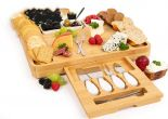 Cheese board with Pieces Knife Set - HY1119