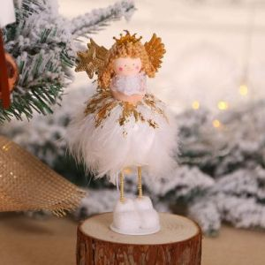 Christmas tree decorations Angel doll / desktop window creative decoration - TS05