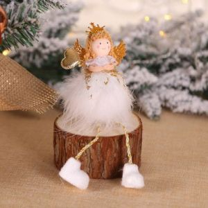 Christmas tree decorations Angel doll / desktop window creative decoration - TS06