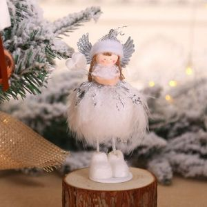 Christmas tree decorations Angel doll / desktop window creative decoration - TS07