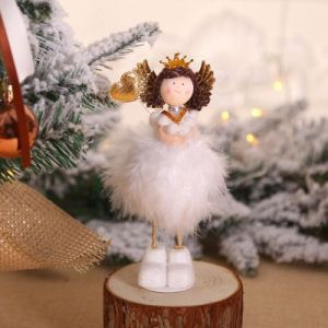 Christmas tree decorations Angel doll / desktop window creative decoration - TS09