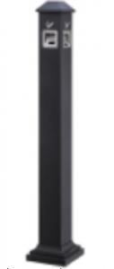 Cigarette trash pillar (GPX-129M) - black