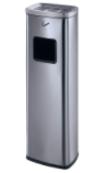 Cigarette trash pillar (GPX-129W) - silver