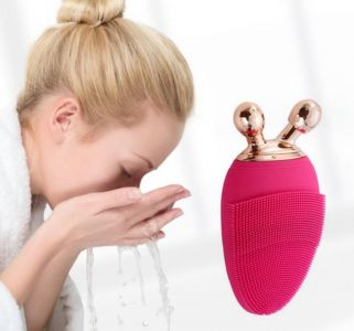 Cleansing massager electric