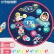 Dart Ball Board - Outer Space Design