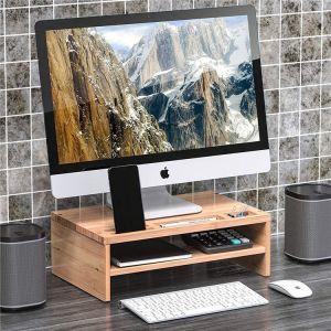 Desk Monitor with Storage Organizer 2 Shelves - HY3101