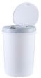 Electric trash bin (with Infrared sensor) 12L - white ( battery needed)