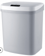 Electric trash bin (with Infrared sensor& touch sensor) 16L - grey ( battery needed)