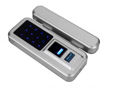 Glass door lock (fingerprint) (CE)