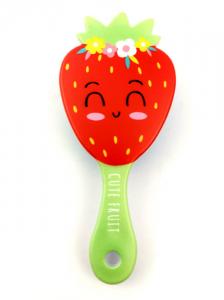 Hairbrush Fruit - green holder