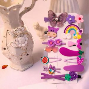 Hairpin Set (14 pcs) - Butterfly (Type 7)
