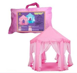Hexagon Castle Tentage for baby - blue