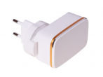 HF-1016 - Adapter charger USB HALOFUTURE 3xUSB 2.4A - white