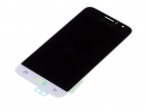 HF-141, GH97-18224A - Touch screen with LCD display Samsung SM-J120 Galaxy J1 (2016) - white (original)