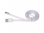 HF-41, H-CLL1WW01 - Cable lightning HEDO iPhone 5/ 5s/ 6/ 6s/ 7/ 8 - white