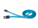 HF-45, H-CLL1LL01 - Cable lightning HEDO iPhone 5/ 5s/ 6/ 6s/ 7/ 8 - blue