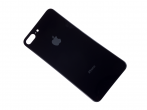 HF-857 - Battery cover (only glass) iPhone 8 Plus - black