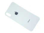 HF-862 - Battery cover (only glass) iPhone X - white