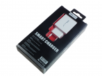 HF-907 - Travel charger adapter Belly BL-04 2xUSB 3,1A