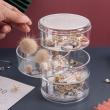 Jewelry storage Box 4 layer - transparent