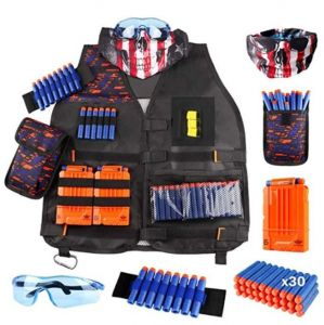 Kids Tactical Vest Equipped