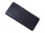 LCD display + touch screen Huawei P30 - balck