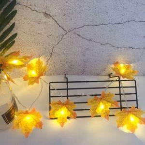 LED Maple Leaf Lamps Christmas Lanterns 2M - type 2