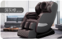 Massage chair (KJ-M8) with full-body multi-function manipulator - black