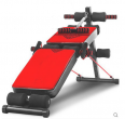 Multifunctional fitness equipment sit-up stand  -  red