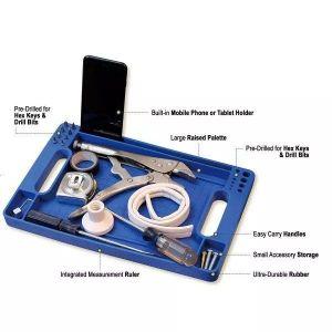 - Portable tool tray - blue