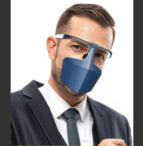 Protective mask - blue