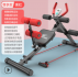 Sit-up abdominal exercise equipment - red black