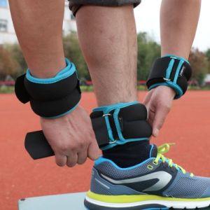 Tied leg / arm weight - foot  sandbag - blue (4kg/pair - 2kg/pcs )