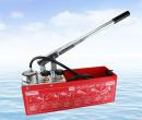 Water piping valves pressure machines Manual test pump 50kg